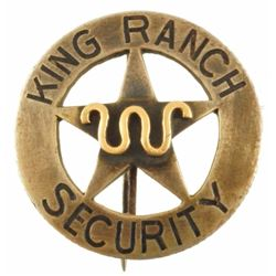 King Ranch Security Badge