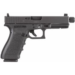 "Glock PF2150201TB G21SF Threaded Barrel DAO 45ACP 4.6"" 10+1 Integral Grip Black .764503911279"
