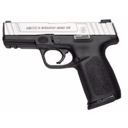 "SMITH AND WESSON SD40VE 40 SW 4"" 14+1 Blk Poly Grip Black Frame/SS Slide .022188149333"