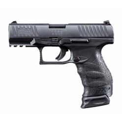 "WALTHER ARMS PPQ M2 NAVY 9MM 4"" 15&17RD BLK .723364200083"