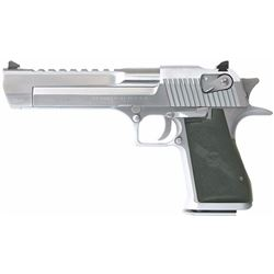 "Magnum Research DE50BC Desert Eagle Mk XIX 50AE 6"" 7+1 Blk Syn Brushed Chrome .761226023074"