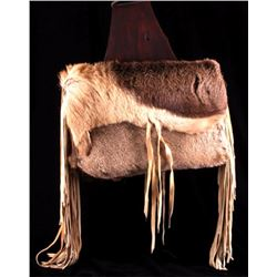 Montana Mountain Man Deer Hide Saddle Bags