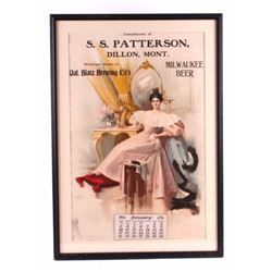 S.S. Patterson Dillon Montana Advertising Calendar
