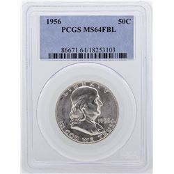1956 Franklin Half Dollar PCGS Graded MS64FBL