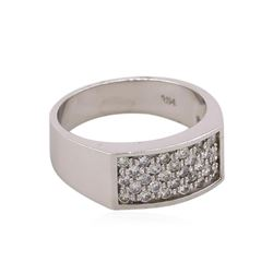 14KT White Gold 0.75ctw Round Brilliant Cut Diamond Ring