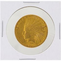 1913-S $10 Liberty Head Eagle Gold Coin XF