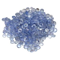 11.9ctw Round Mixed Tanzanite Parcel