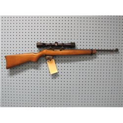 Ruger; Model 10/22 Carbine; .22LR; Semi Auto; Clip; Bushnell Sportview Scope 4x.32 Waterproof; Minor