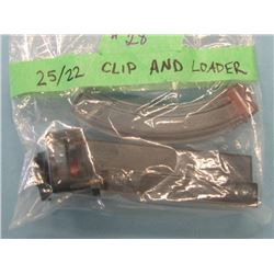 Speed loader & Banana Clip to fit Ruger 10/22