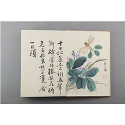 WC Book of Insects Signed Wang Shishen 1686-1759