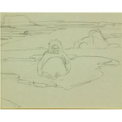 Franz Johnston Pencil on Paper Canada 1888-1949