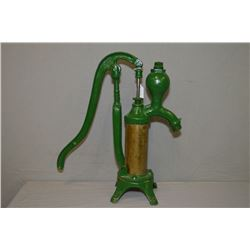Vintage cast iron Canadian made hand pump