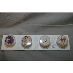 Selection of gemstones including 1.43cts of 1.5mm rubies, 1.38ct of tapered blue sapphires, 6.8ct of