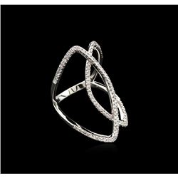 0.47ctw Diamond Ring - 14KT White Gold