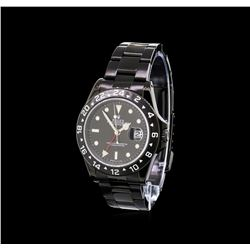 Rolex PVD Explorer II Men's Watch