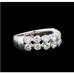 1.23ctw Diamond Ring - 14KT White Gold