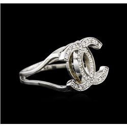 0.37ctw Diamond Ring - 14KT White Gold