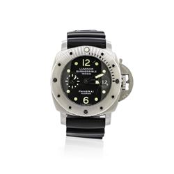 Panerai Stainless Steel Luminor Submersible Watch