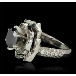 14KT White Gold 3.57ctw Diamond Ring
