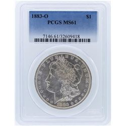 1883-O PCGS MS61 Morgan Silver Dollar