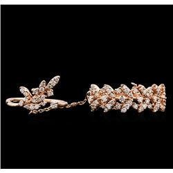 0.68ctw Diamond Ring - 14KT Rose Gold