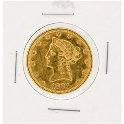 1891 $10 CU Liberty Head Eagle Gold Coin