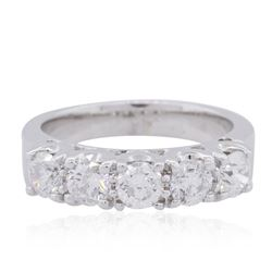 14KT White Gold 1.36ctw Diamond Ring