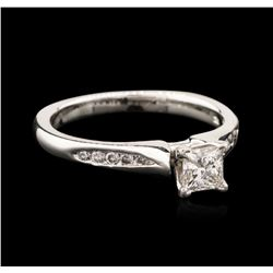 14KT White Gold 0.66ctw Diamond Ring
