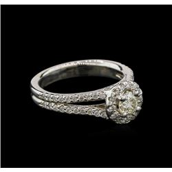 0.95ctw Diamond Ring - 14KT White Gold