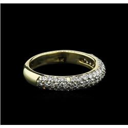 0.74ctw Diamond Ring - 14KT Yellow Gold