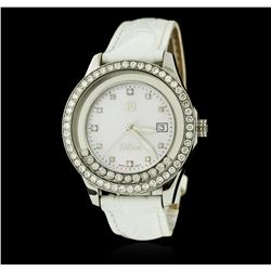 DiBur Stainless Steel Diamond Watch