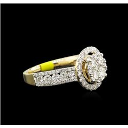 2.00ctw Diamond Ring - 14KT Yellow Gold