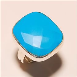 Sleeping Beauty Turquoise RING Solid Sterling Silver