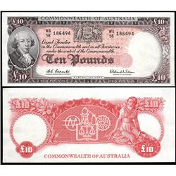 Australia, Ten Pounds, Coombs/Wilson (1960) WA/58 186494 (R.63)