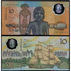 Australia, Ten Dollars, Johnston/Fraser (1988) AB/10 795530 (R.310bF)