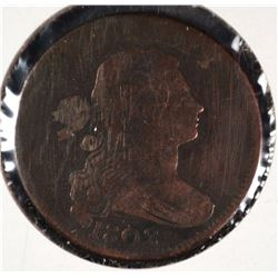 1802 LARGE CENT VG