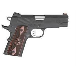"*NEW* SPRINGFIELD ARMORY RANGE OFFICER COMPACT SA 9mm 4"" 8+1 Cocobolo Grips Black 706397897819"