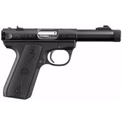 "*NEW* RUGER Mark III 22/45 22LR 4.5"" TB 10+1 Poly Grip Blued UPC: 736676101504"
