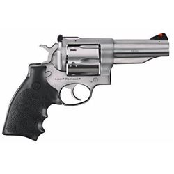 "*NEW* Ruger 5027 KRH454 Redhawk 45 Colt 4"" 6rd Black Hogue Monogrip Satin Stainless 736676050277"