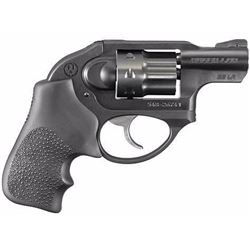 "*NEW* RUGER LCR DAO 38 SPECIAL +P 1.875"" 5rd Blk Hogue Tamer Monogrip Black 736676054015"