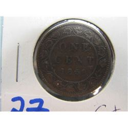 Canada Large Penny 1859