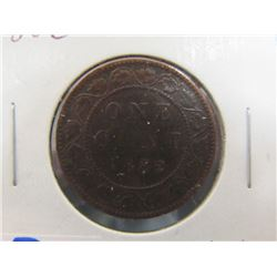Canada Large Penny 1882 - H