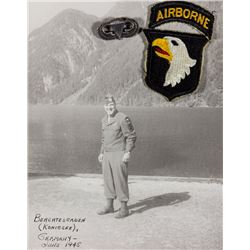 JUMP WINGS AND AIRBORNE PATCH OF 101ST AIRBORNE M/SGT.