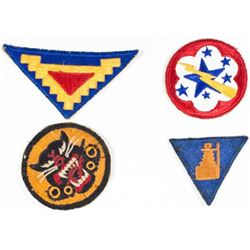 ALLIED SHOULDER PATCHES
