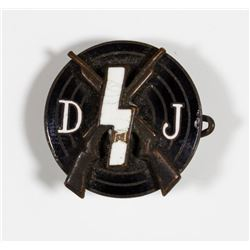 DEUTSCHES JUNGVOLK MARKSMANSHIP BADGE