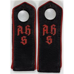ADOLF HITLER SCHULE SHOULDER STRAPS