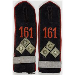 HITLER YOUTH FIRST LIEUTENANT SHOULDER STRAPS
