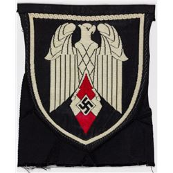 HITLER YOUTH FLAG BEARER?S PATCH