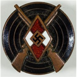 HITLER YOUTH MARKSMANSHIP BADGE