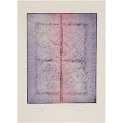 Tighe O'Donoghue, Earthworm Abstract II, Aquatint Etching